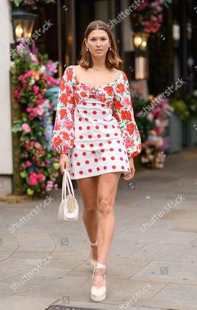 Editorial picture of Ivy Kensington Brasserie x RIXO launch, London, UK - 10 Jul 2019