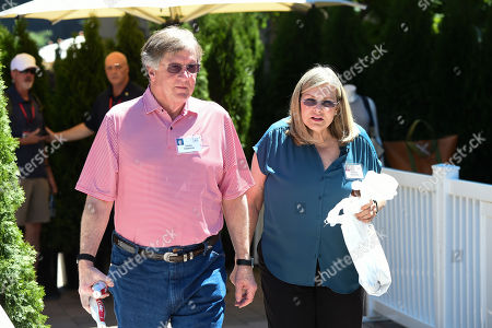 Editorial image of Allen & Company Conference, Day 3, Sun Valley, USA - 11 Jul 2019