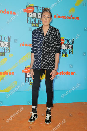 Editorial image of Nickelodeon Kids' Choice Sports Awards, Arrivals, Barker Hanger, Los Angeles, USA - 11 Jul 2019