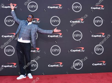 Paul Pierce arrives at the ESPY Awards, at the Microsoft Theater in Los Angeles