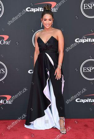 Editorial image of 2019 ESPY Awards - Arrivals, Los Angeles, USA - 10 Jul 2019