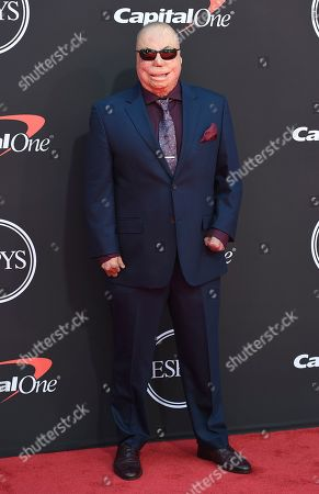 Israel Del Toro arrives at the ESPY Awards, at the Microsoft Theater in Los Angeles