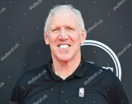 Bill Walton arrives at the ESPY Awards, at the Microsoft Theater in Los Angeles