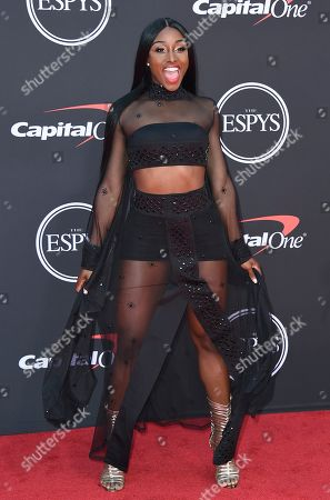 Stock Picture of AJ Andrews arrives at the ESPY Awards, at the Microsoft Theater in Los Angeles