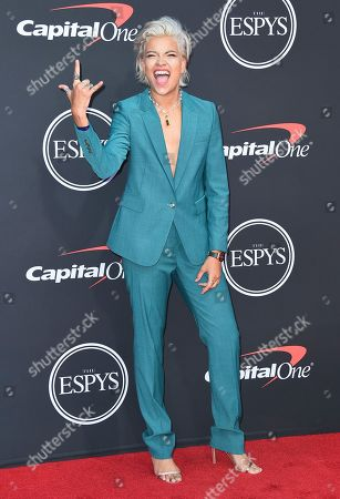 Stock Photo of Victoria Brito arrives at the ESPY Awards, at the Microsoft Theater in Los Angeles