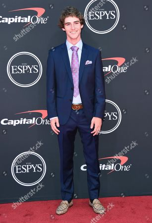 Tom Schaar arrives at the ESPY Awards, at the Microsoft Theater in Los Angeles
