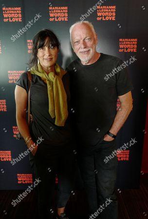 Stock Image of Polly Samson and David Gilmour