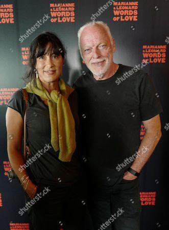 Stock Photo of Polly Samson and David Gilmour