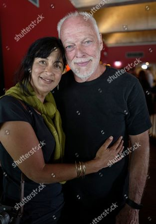 Stock Picture of Polly Samson and David Gilmour