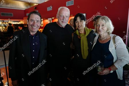Jools Holland, David Gilmour, Polly Samson and guest