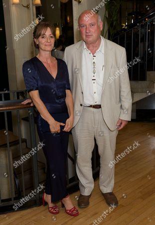 Stock Picture of Ali Hatch & Louis de Bernieres (author)
