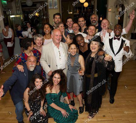 Full cast & Louis de Bernieres (author)