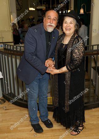 Stock Picture of Joseph Long & Eve Polycarou