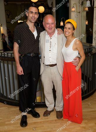 Alex Mugnaioni, Louis de Bernieres & Madison Clare