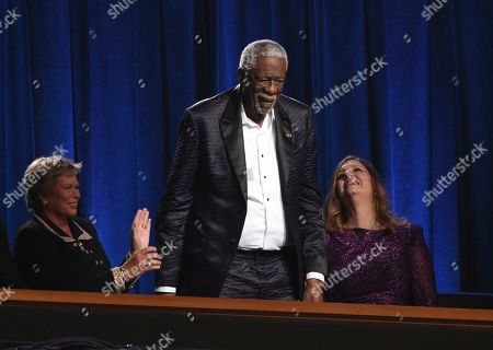 Stock Picture of Bill Russell accepts the Arthur Ashe award for courage at the ESPY Awards, at the Microsoft Theater in Los Angeles