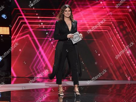 Stock Photo of Sandra Bullock presents the award for best team at the ESPY Awards, at the Microsoft Theater in Los Angeles