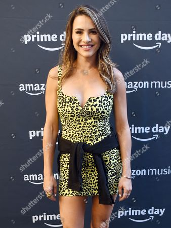 Editorial photo of Prime Day Concert by Amazon, Arrivals, New York, USA - 10 Jul 2019