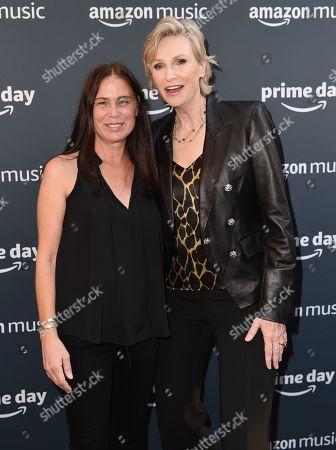 Maura Tierney and Jane Lynch