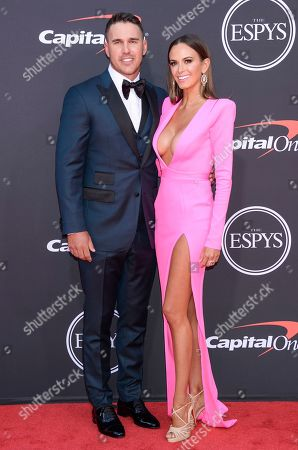 Stock Photo of Brooks Koepka and Jena Sims