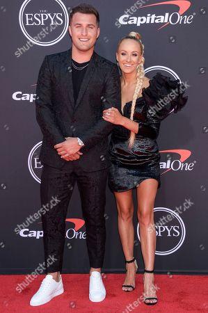 Stock Picture of Sam Martin and Nastia Liukin