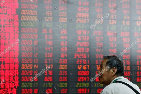 Editorial image of Financial Markets, Beijing, China - 11 Jul 2019
