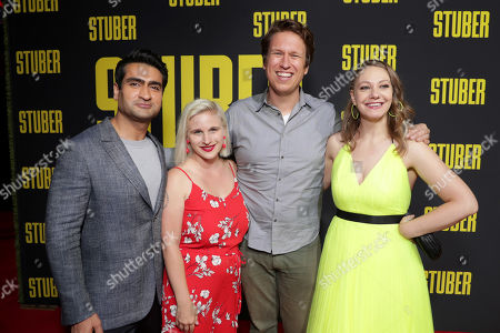 Editorial image of Twentieth Century Fox 'Stuber' film premiere at Regal Cinemas L.A. LIVE, Los Angeles, USA - 10 Jul 2019