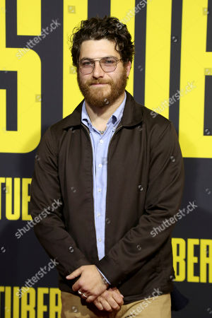 "Adam Pally attends the LA Premiere of ""Stuber"" at the Regal LA Live, in Los Angeles"