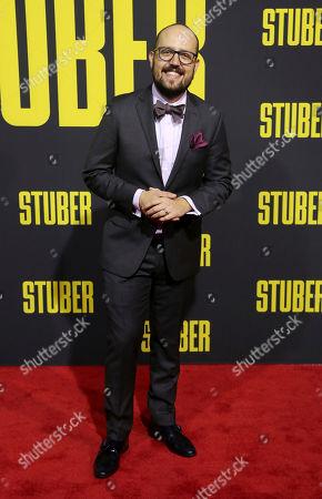 "Joseph Trapanese attends the LA Premiere of ""Stuber"" at the Regal LA Live, in Los Angeles"