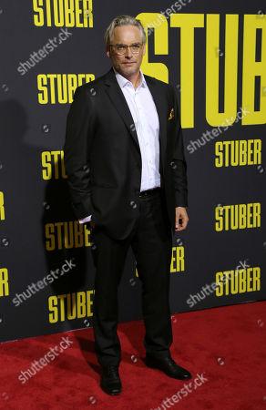 "Michael Dowse attends the LA Premiere of ""Stuber"" at the Regal LA Live, in Los Angeles"