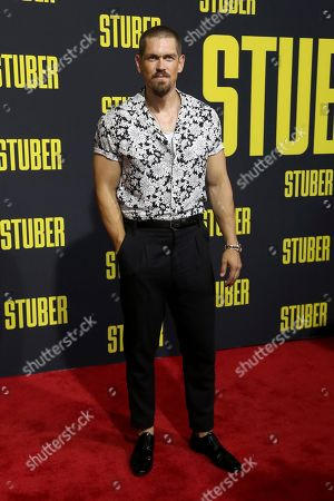 "Steve Howey attends the LA Premiere of ""Stuber"" at the Regal LA Live, in Los Angeles"
