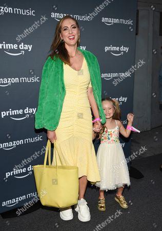 Eva Amurri, Marlowe Mae Martino. Actress Eva Amurri and her daughter Marlowe Mae Martino attend Amazon Music's Prime Day concert at the Hammerstein Ballroom, in New York