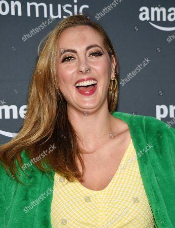 Eva Amurri attends Amazon Music's Prime Day concert at the Hammerstein Ballroom, in New York