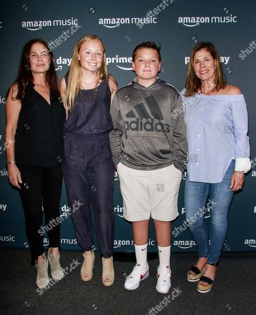 Maura Tierney and guests