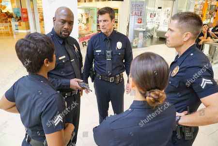 Afton Williamson as Talia Bishop, Richard T. Jones as Wade Grey, Nathan Fillion as John Nolan, Melissa O'Neil as Lucy Chen and Eric Winter as Tim Bradford
