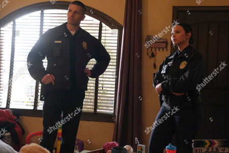 Stock Image of Eric Winter as Tim Bradford and Melissa O'Neil as Lucy Chen