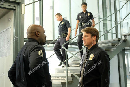 Richard T. Jones as Sergeant Wade Grey, Afton Williamson as Talia Bishop and Nathan Fillion as John Nolan