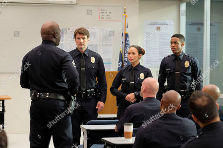Richard T. Jones as Sergeant Wade Grey, Nathan Fillion as John Nolan, Melissa O'Neil as Lucy Chen and Titus Makin Jr as Jackson West