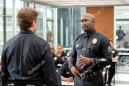 Nathan Fillion as John Nolan and Richard T. Jones as Sergeant Wade Grey