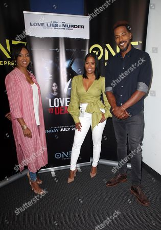 Editorial photo of TV One 'A Month Of Love, Lies, And Murder' event, Los Angeles, USA - 10 Jul 2019