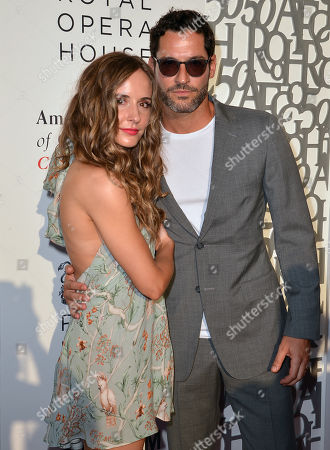 Stock Picture of Meaghan Oppenheimer and Tom Ellis