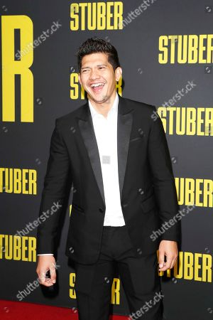Iko Uwais arrives for the premiere of 'Stuber' at the Regal Cinemas L.A. Live in Los Angeles, California, USA, 10 July 2019. The movie opens in the US on 12 July 2019.