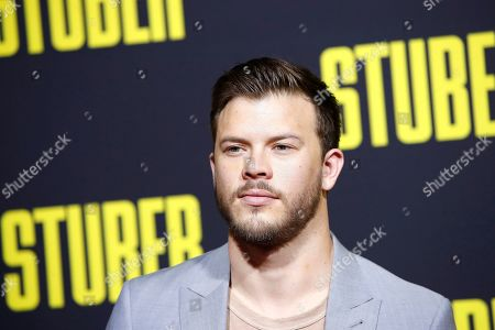 Jimmy Tatro arrives for the premiere of 'Stuber' at the Regal Cinemas L.A. Live in Los Angeles, California, USA, 10 July 2019. The movie opens in the US on 12 July 2019.