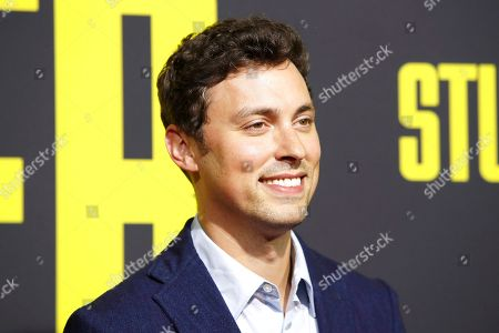 Stock Photo of John Francis Daley arrives for the premiere of 'Stuber' at the Regal Cinemas L.A. Live in Los Angeles, California, USA, 10 July 2019. The movie opens in the US on 12 July 2019.