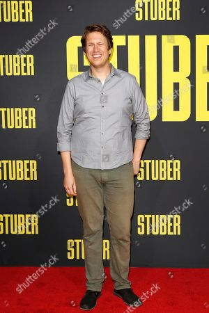 Pete Holmes arrives for the premiere of 'Stuber' at the Regal Cinemas L.A. Live in Los Angeles, California, USA, 10 July 2019. The movie opens in the US on 12 July 2019.