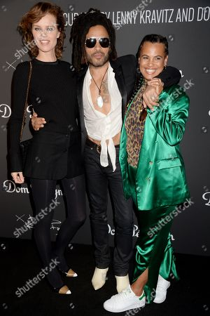 Editorial image of 'Assemblage Exhibition' hosted by Dom Perignon, London, UK - 10 Jul 2019