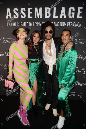 Rina Sawayama, Guest, Lenny Kravitz and Neneh Cherry