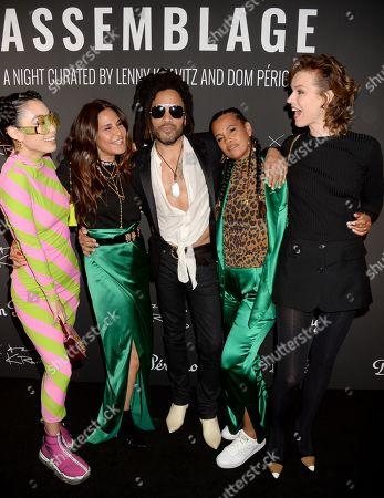 Rina Sawayama, Guest, Lenny Kravitz, Neneh Cherry and Eva Herzigova