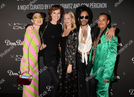 Rina Sawayama, Eva Herzigova, Poppy Delevingne, Lenny Kravitz and Neneh Cherry