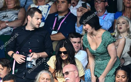 Mike Skinner and Daisy Lowe on Centre Court