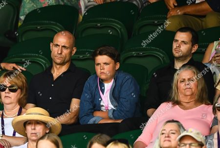 Mark Strong and Mike Skinner on Centre Court